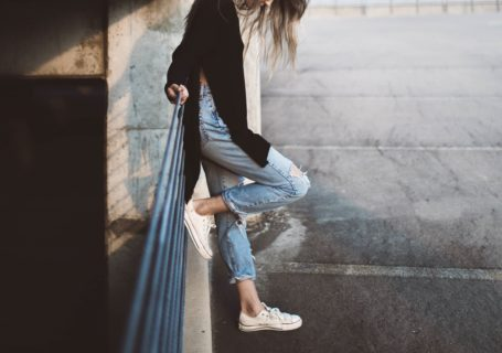 Ripped Jeans are all the rage